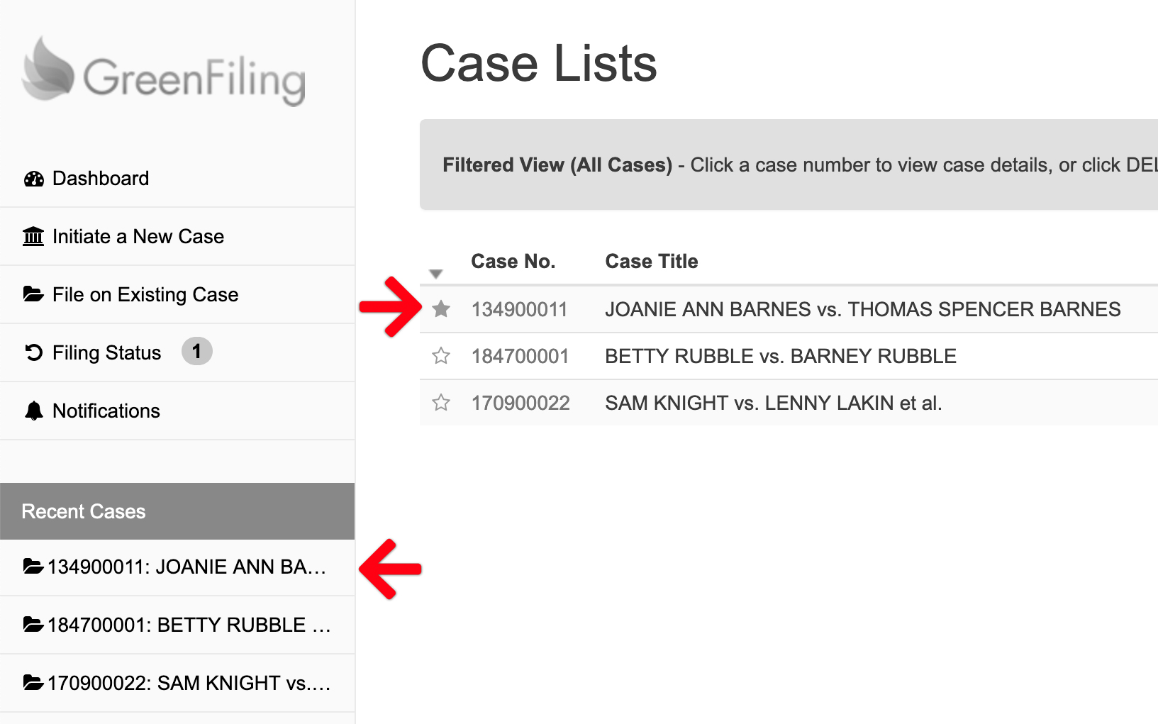 Star Selected Cases