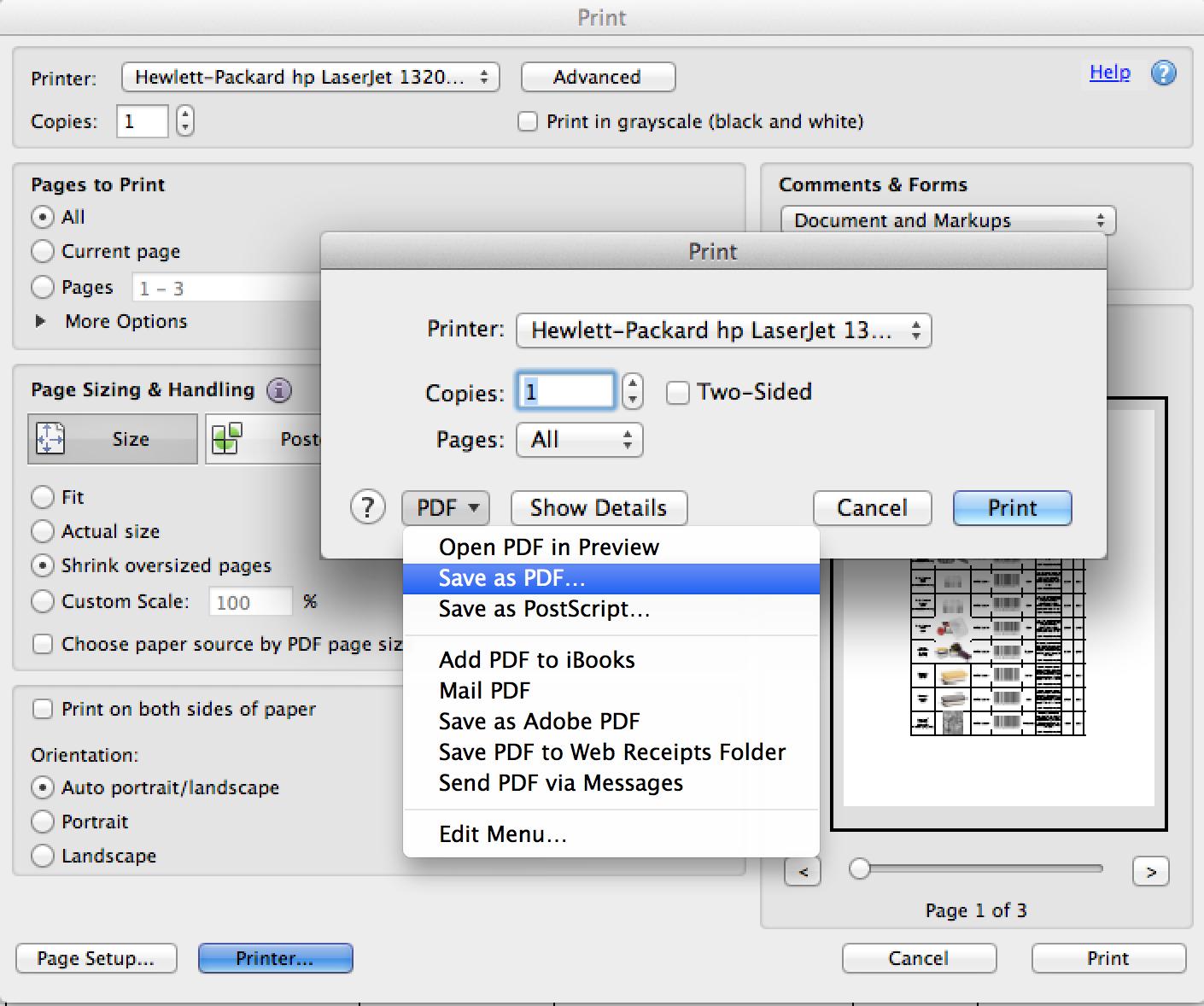 Adobe print driver for mac